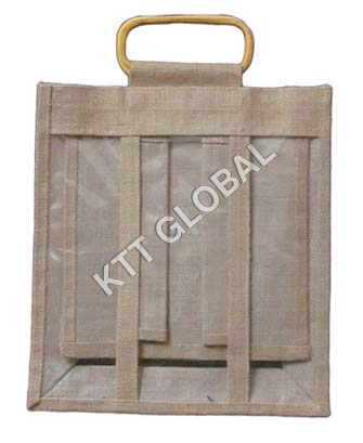 Jute Water Bottle Bag (WB-3017)