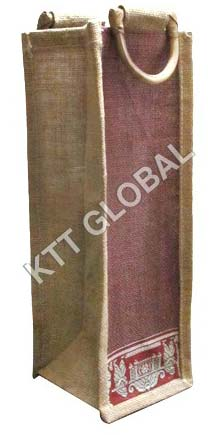 Jute Water Bottle Bag (WB-3035)