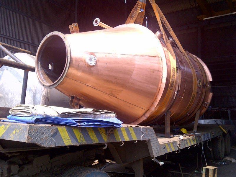 Copper Distillation Vessel