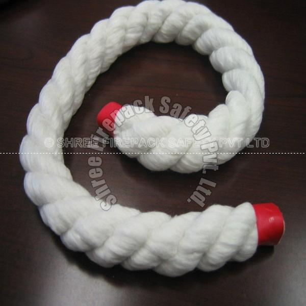 3 Ply Twisted Ceramic Fiber Rope Made From Wicking