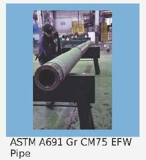 ASTM A691 EFW Pipes