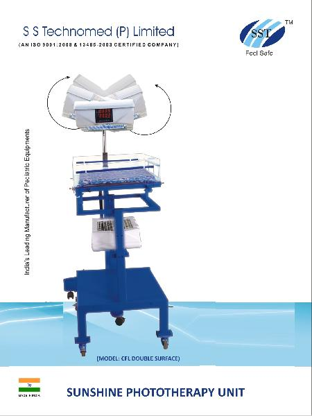 Double Surface CFL Phototherapy Unit