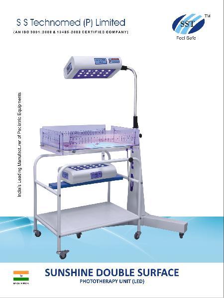 Double Surface LED Phototherapy Unit