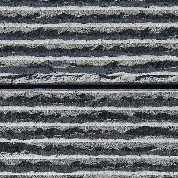 Line Chiseled Granite Stone