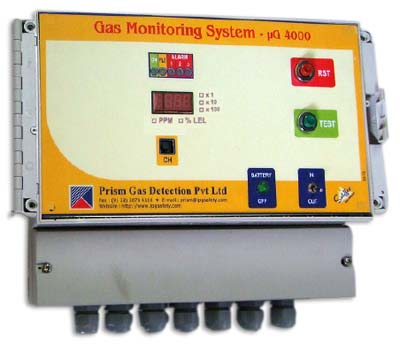 Online Gas Detection System (MG-4000)