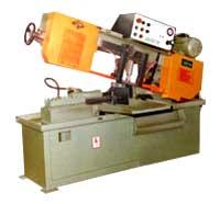 Semi Automatic Swing Type Band Saw Machine