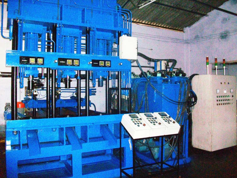 3-Station Quench Press (25T)