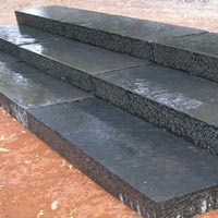 Black BLock Steps Limestone