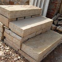 Desertsand Block Steps