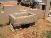 Sandstone Benches and Fireplace 11