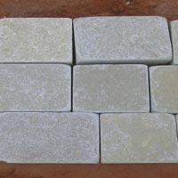 Yellow Tumbled Limestone