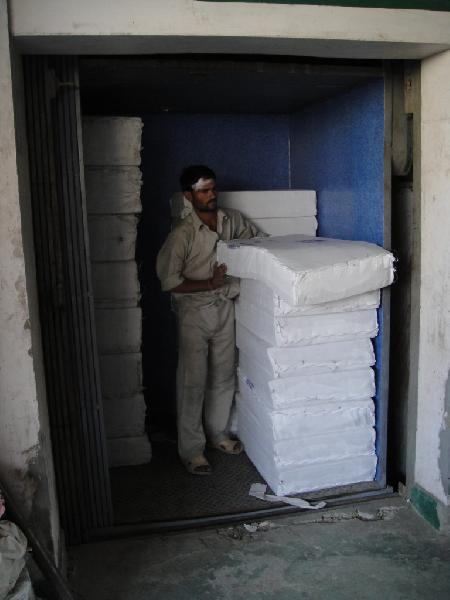 Cage Hoist Goods Lift