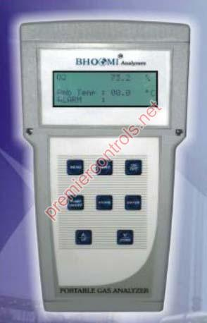 Portable Boiler Flue Gas Analyzer