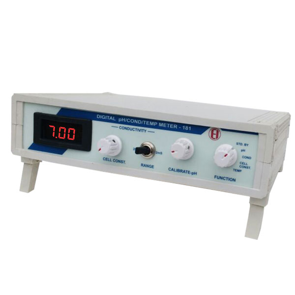Digital pH, Conductivity & Temperature Meter - 181