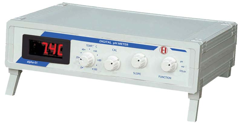 Digital pH Meter Alpha - 01