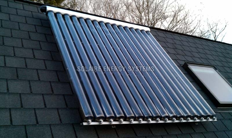 Evacuated Tube Collector Solar Water Heater 500 Lpd