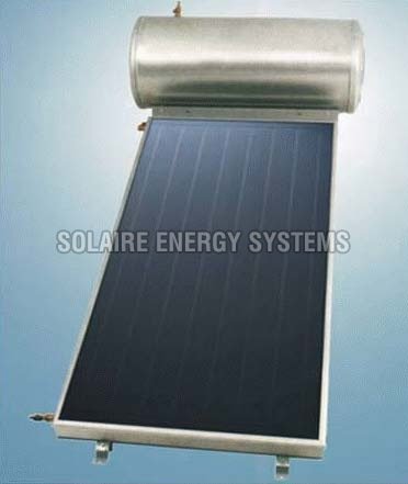 Flat Plate Collector Solar Water Heater (100 LPD)