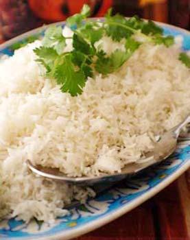 Steam Basmati Rice