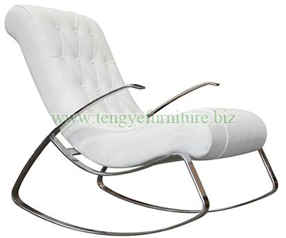 Antique Rocking Lounge Chair