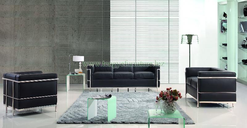 Modern LC2 Sofa Set
