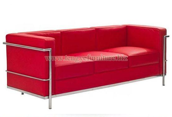 Modern Red Chesterfield Sofa
