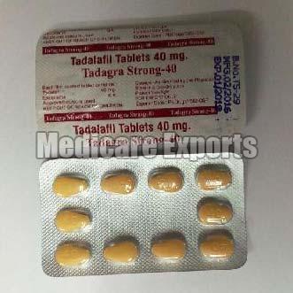 Tadalafil Tablets (40mg)