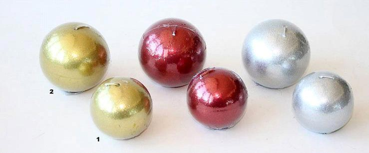Ball Shaped Candles