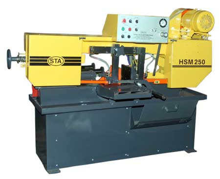 Semi Automatic Band Saw Machine (Model : HSM-250)
