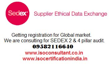 Sedex Ethical Audit In Delhi,Noida,Gurgaon,Faridabad,Kundli