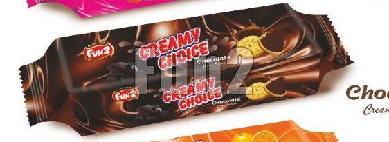 Chocolate Creamy Choice Biscuits