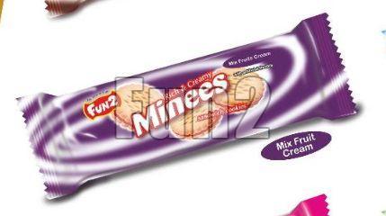 Mix Fruit Cream Minees Sandwich Cookies