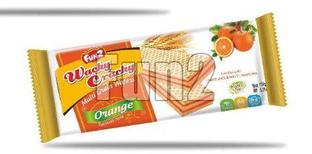 Orange Wacky Cracky Wafers