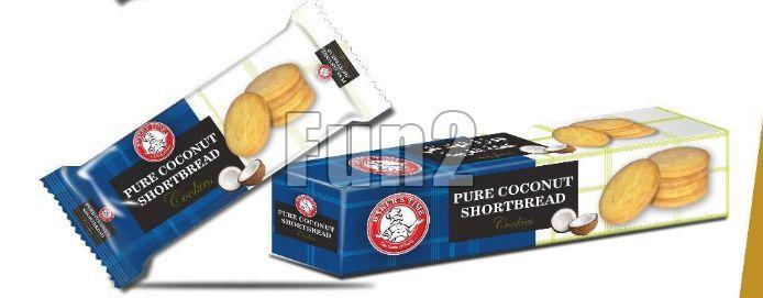 Pure Coconut Shortbread Cookies 02