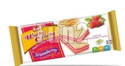 Strawberry Wacky Cracky Wafers
