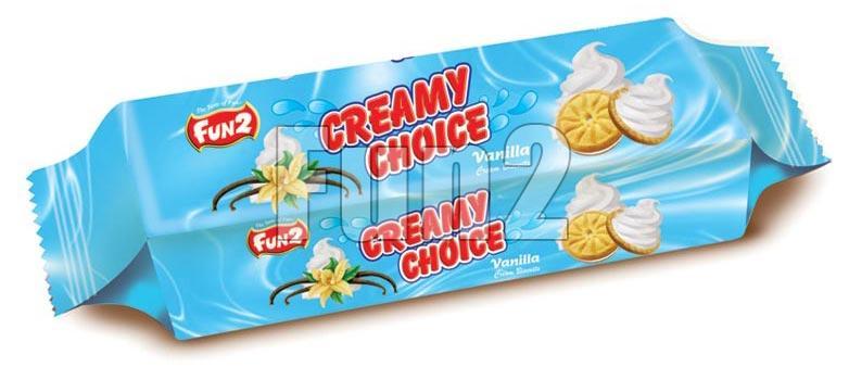 Vanilla Cream Biscuits (180GM)
