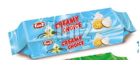 Vanilla Creamy Choice Biscuits
