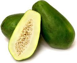 Fresh Green Papaya