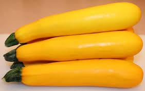 Fresh Yellow Zucchini