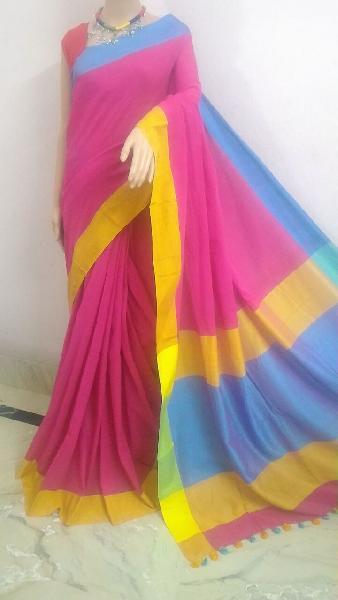 Handloom Pure Khadi Cotton Sarees 01