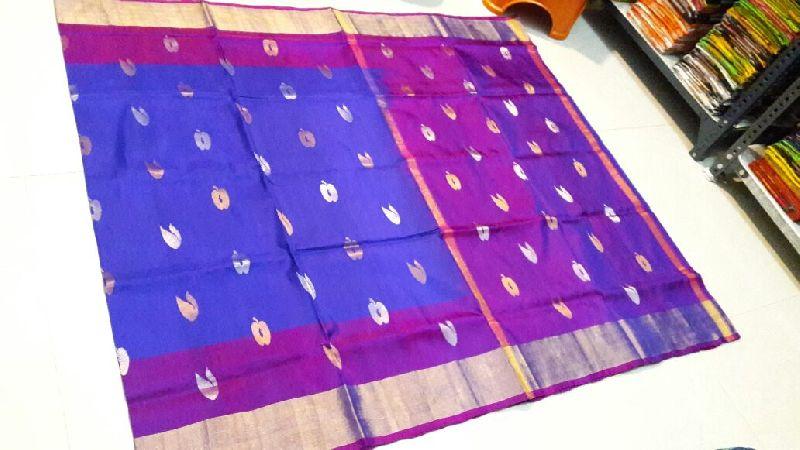 Pure Uppada Silk Jamdani Saree 06