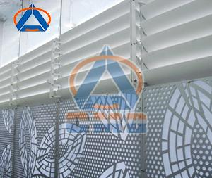 Aluminium CNC Cutting Hollow Panel (CMD-CH003)