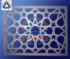 Aluminium Mashrabiya Panel 01
