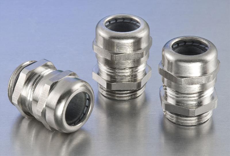 Aluminium electrical enclosures polyamide conduit