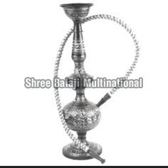 Silver Coated Wooden Hookah