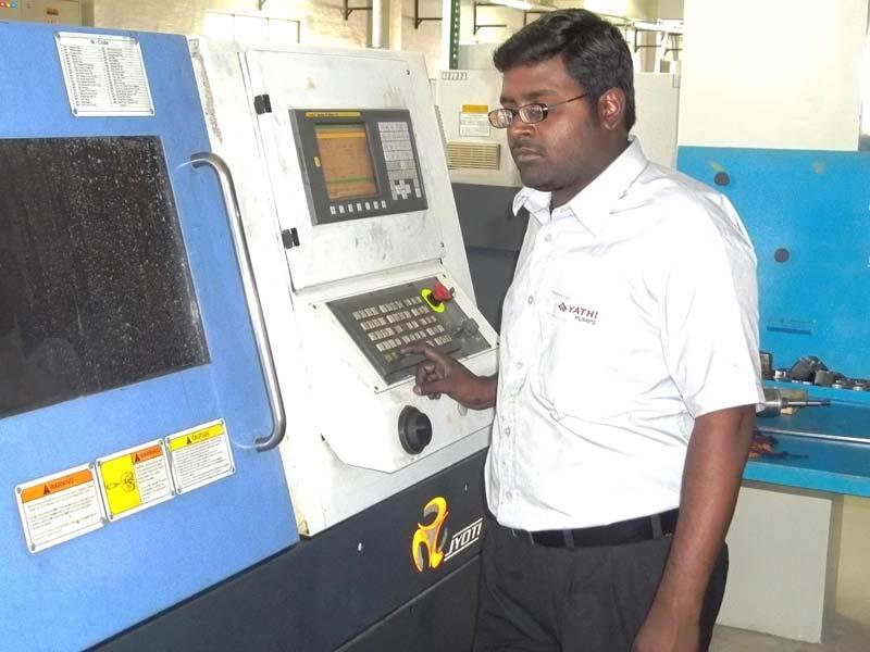 cnc machine operator school