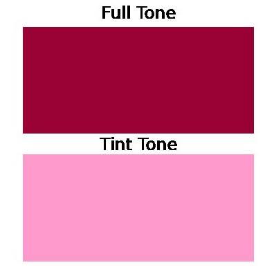 Maroon Toner Paint Pigment