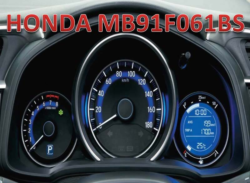 HONDA Fujitsu MB91F061 MB91F062 MB91F067  ODOMETER