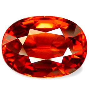 Spessartite Garnet Gemstone