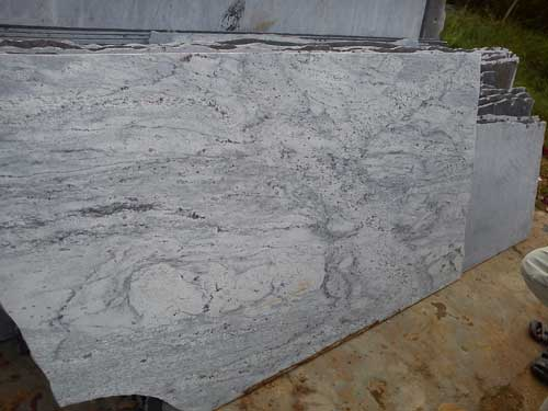 White Granite Stone Slabs River White Granite Stone Slabs
