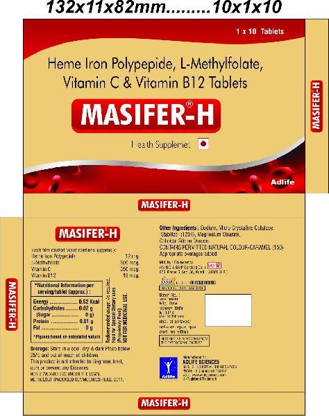 Masifer-H Tablets